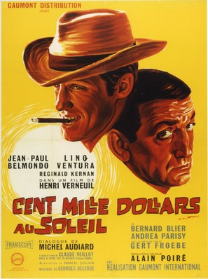Cent mille dollars au soleil - French Movie Poster (thumbnail)