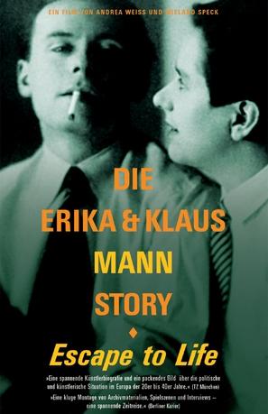 Erika und Klaus Mann Story, Die - German poster (thumbnail)