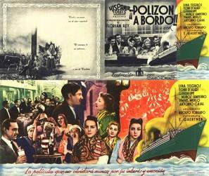 ¡Polizón a bordo! - Spanish Movie Poster (thumbnail)