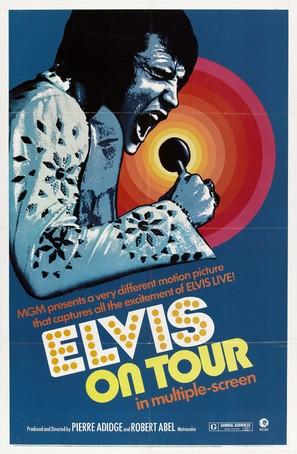Elvis On Tour - Movie Poster (thumbnail)
