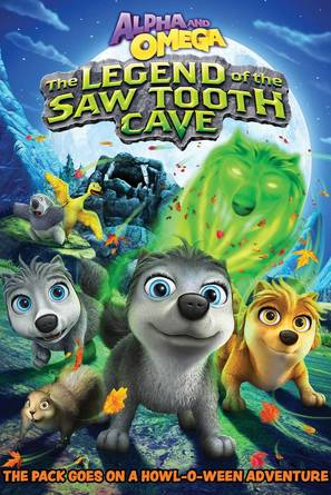 Alpha And Omega: The Legend of the Saw Toothed Cave - DVD movie cover (thumbnail)
