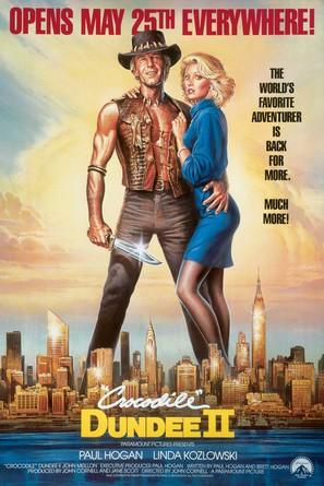 Crocodile Dundee II - Advance poster (thumbnail)