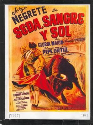 Seda, sangre y sol - Mexican Movie Poster (thumbnail)