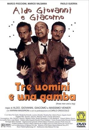 Tre uomini e una gamba - Italian Movie Cover (thumbnail)