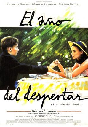 Année de l'éveil, L' - Spanish Movie Poster (thumbnail)