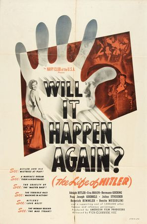 Will It Happen Again? - Theatrical poster (thumbnail)