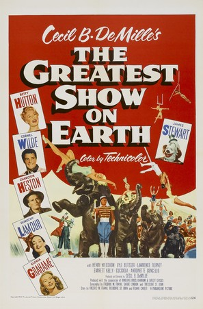 The Greatest Show on Earth - Theatrical movie poster (thumbnail)