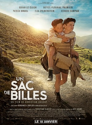 Un sac de billes - French Movie Poster (thumbnail)