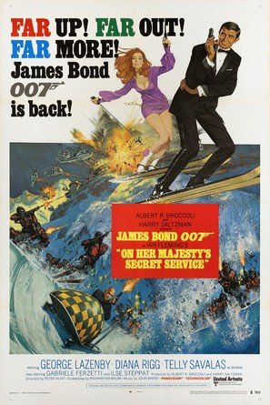 On Her Majesty's Secret Service - Movie Poster (thumbnail)