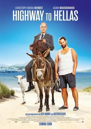 Highway to Hellas - German Movie Poster (thumbnail)