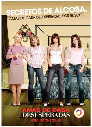 """Amas de casa desesperadas"" - Spanish Movie Poster (thumbnail)"
