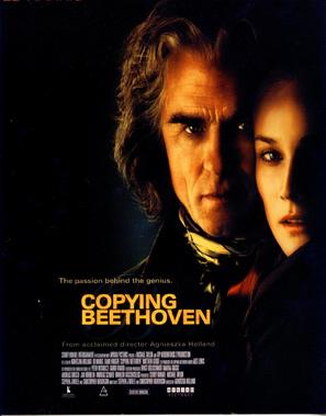 Copying Beethoven - Movie Poster (thumbnail)