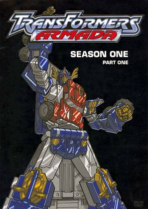 """Transformers: Armada"" - DVD movie cover (thumbnail)"