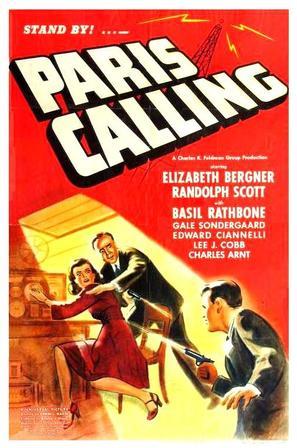Paris Calling - Movie Poster (thumbnail)
