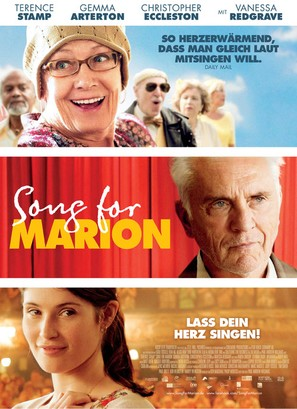 Song for Marion - German Movie Poster (thumbnail)