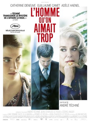 L'homme qu'on aimait trop - French Movie Poster (thumbnail)