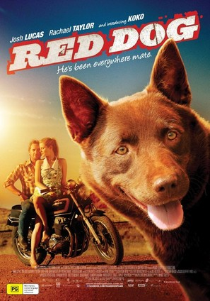 Red Dog - Australian Movie Poster (thumbnail)