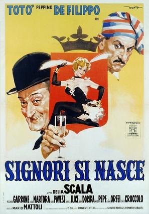 Signori si nasce - Italian Movie Poster (thumbnail)