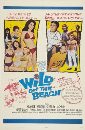 Wild on the Beach - Movie Poster (thumbnail)