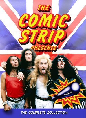"""The Comic Strip Presents..."" - DVD cover (thumbnail)"