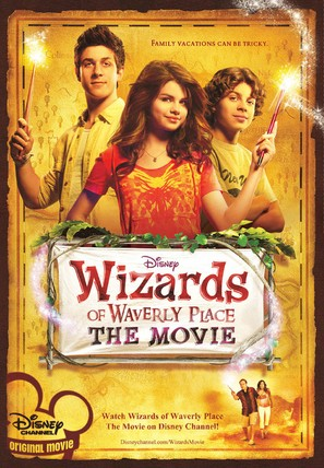 Wizards of Waverly Place: The Movie - Movie Poster (thumbnail)
