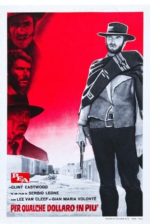 Per qualche dollaro in più - Italian Movie Poster (thumbnail)