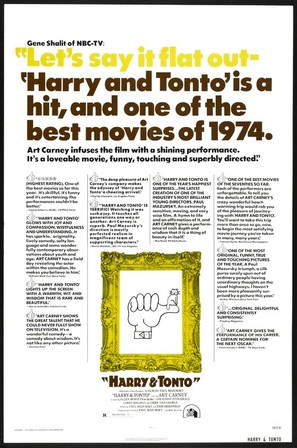 Harry and Tonto - Movie Poster (thumbnail)