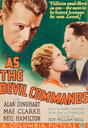 As the Devil Commands - Movie Poster (thumbnail)