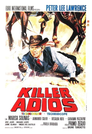 Killer, adios - Italian Movie Poster (thumbnail)
