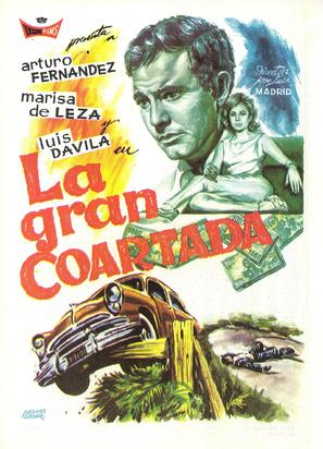 La gran coartada - Spanish Movie Poster (thumbnail)