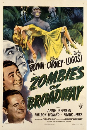 Zombies on Broadway - Movie Poster (thumbnail)