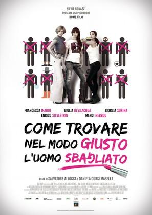 Come trovare nel modo giusto l'uomo sbagliato - Italian Movie Poster (thumbnail)