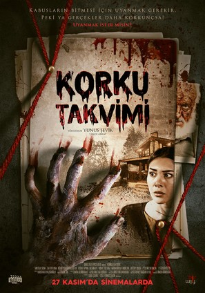 Korku Takvimi - Turkish Movie Poster (thumbnail)