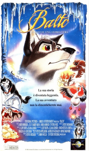 Balto - Italian Movie Poster (thumbnail)