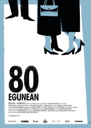 80 egunean - Spanish Movie Poster (thumbnail)