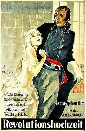 Revolutionshochzeit - German Movie Poster (thumbnail)