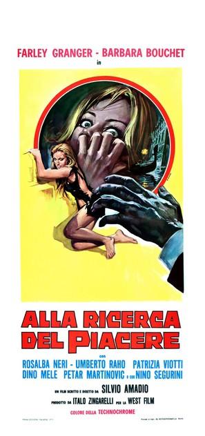 Alla ricerca del piacere - Italian Movie Poster (thumbnail)