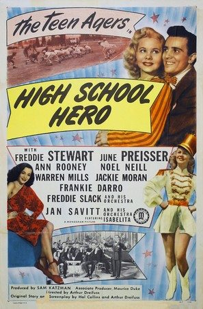 High School Hero - Movie Poster (thumbnail)
