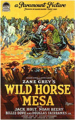 Wild Horse Mesa - Movie Poster (thumbnail)