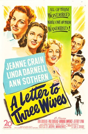 A Letter to Three Wives - Movie Poster (thumbnail)