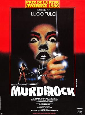 Murderock - uccide a passo di danza - French Movie Poster (thumbnail)