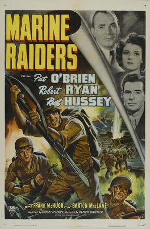 Marine Raiders - Movie Poster (thumbnail)