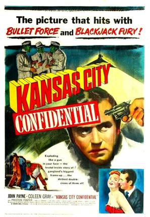 Kansas City Confidential - Movie Poster (thumbnail)
