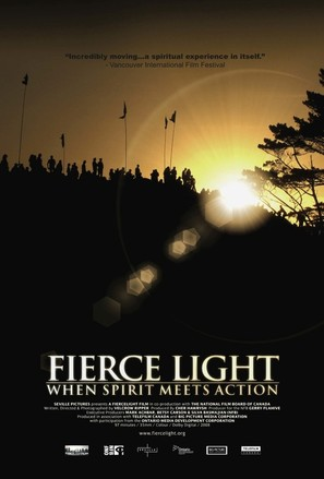 Fierce Light: When Spirit Meets Action - Canadian Movie Poster (thumbnail)