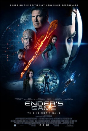 Ender's Game - Movie Poster (thumbnail)