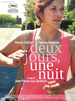 Deux jours, une nuit - Belgian Movie Poster (thumbnail)