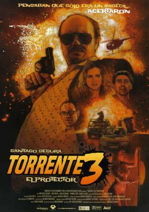 Torrente 3: El protector - Spanish Movie Poster (thumbnail)