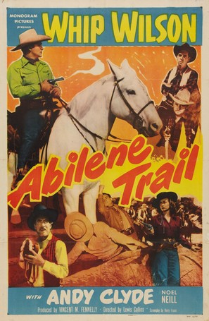 Abilene Trail - Movie Poster (thumbnail)