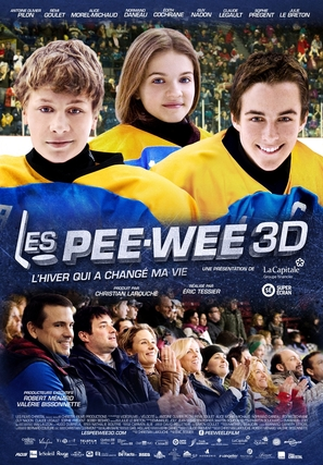 Les Pee-Wee 3D - Canadian Movie Poster (thumbnail)