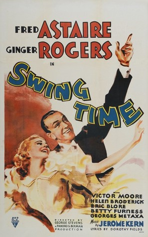 Swing Time - Movie Poster (thumbnail)